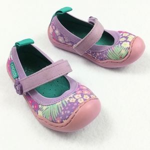 Chooze Steady Meadow Ballet Mary Jane's Flats Sz 6